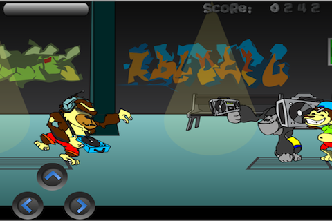 Screenshot iMonkey Shooter Lite